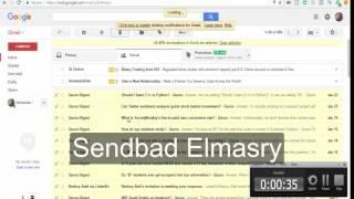 How to delete all gmail inbox messages at once |كيفية حذف كل رسائل Gmail  مرة واحدة او دفعة واحدة