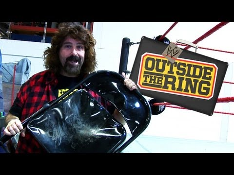"""Outside the Ring"" - Inside the WWE warehouse with Mick Foley"
