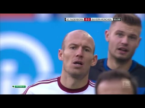 Arjen Robben vs SC Paderborn 07 (Away) 14-15 HD 720p by Robben10i