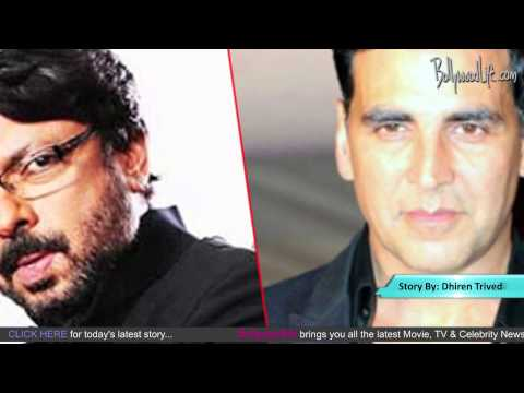 Rowdy Akshay Kumar turns Gabbar for Sanjay Leela Bhansali's next