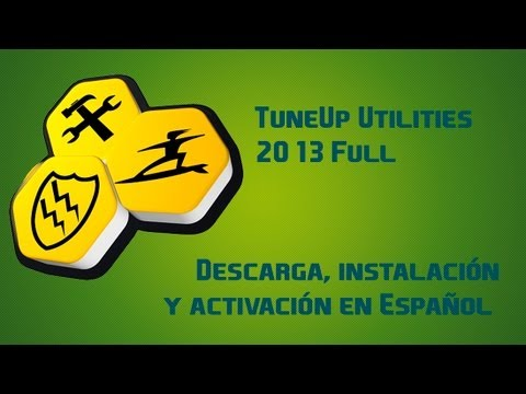 TuneUp Utilities 2013 - Descarga e Instalación Full [Crack y Serial]