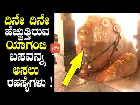 ದಿನೇ ದಿನೇ ಹೆಚ್ಚುತ್ತಿರುವ ಯಾಗಂಟಿ ಬಸವನ್ನ ಅಸಲು ರಹಸ್ಯೆಗಳು!   Yaganti Temple Mystery Kannada Facts