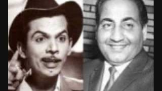 Film Chandan, Year 1958, Song Bada hi CID hai woh neeli chatri wala by Rafi Sahab.flv