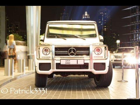 Sheikh Mohammed bin Rashid Al Maktoum & his No.1 white G63 AMG V8 Biturbo Mercedes-Benz