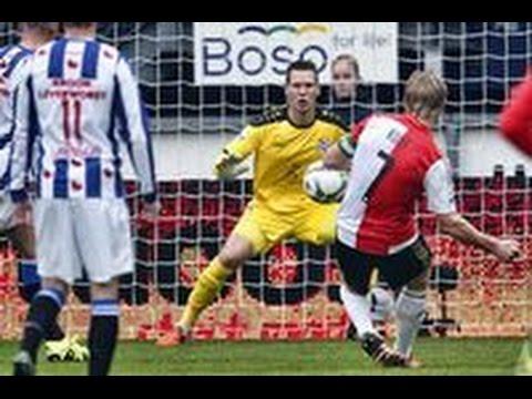 sc Heerenveen - Feyenoord 2-5 samenvatting  🔴⚪