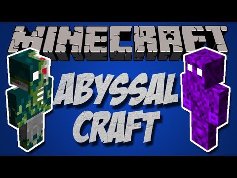 Обзор модов Minecraft #11 AbyssalCraft Тёмное измерение