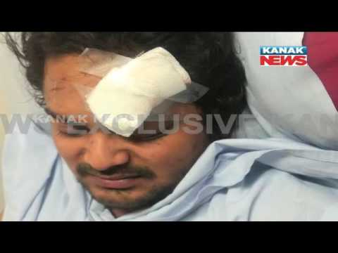 Odia Actor Amlan Das Injured In A Tragic Car Accident