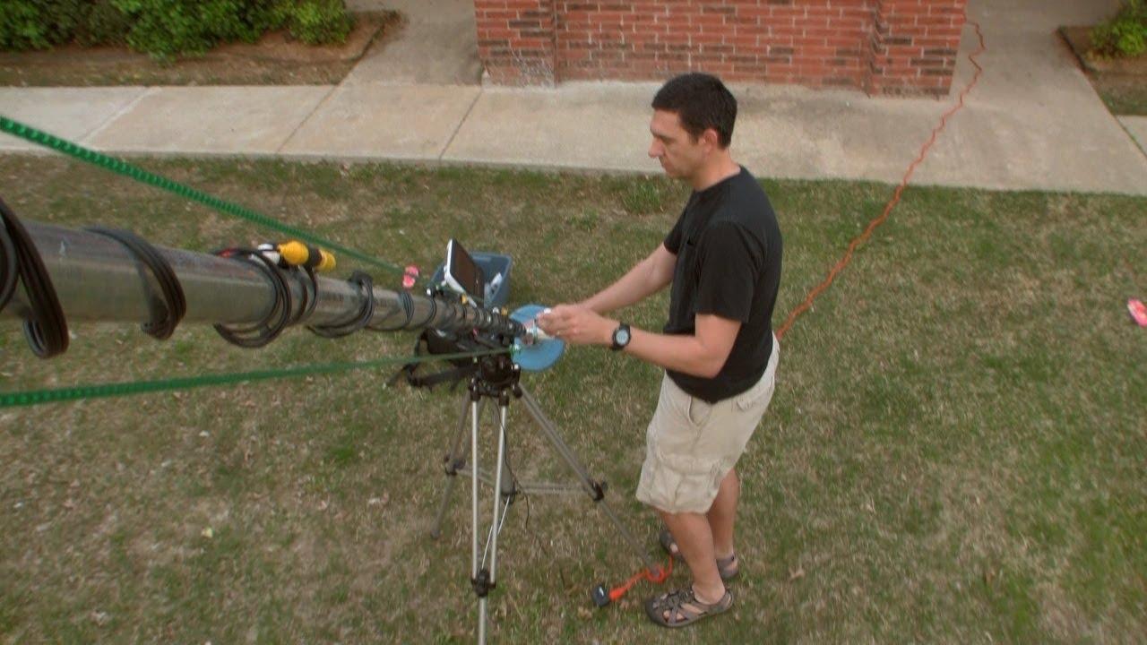 Jib Crane Gopro : Frugal camera crane jib