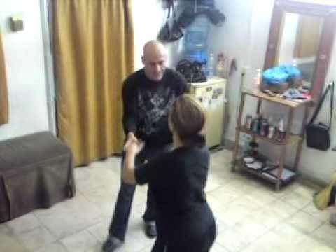 discreto checo baile