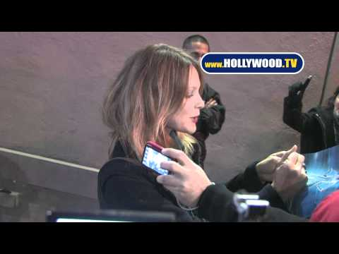 Beau Garrett Greets Fans at Jimmy Kimmel