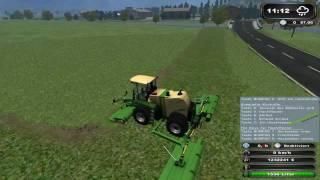 Ls, 2011, 11, Landwirtschaft, Landwirtschafts, Simulator, HD, Ernte, Test, Mod, Mods, Link, Download, Krone, Big, 500, Gras, mähen