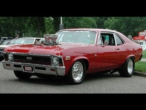 Bad BLOWN Nova Drag Car Cold Start 14psi 650+hp