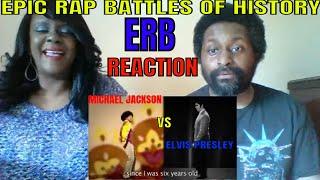 Michael Jackson VS Elvis Presley Epic Rap Battles of History - ERB REACTION