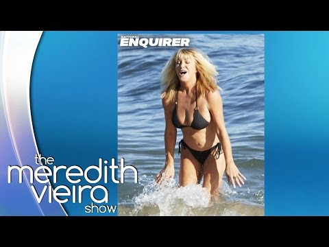 Suzanne Somers in a Bikini on The Enquirer! |  The Meredith Vieira Show