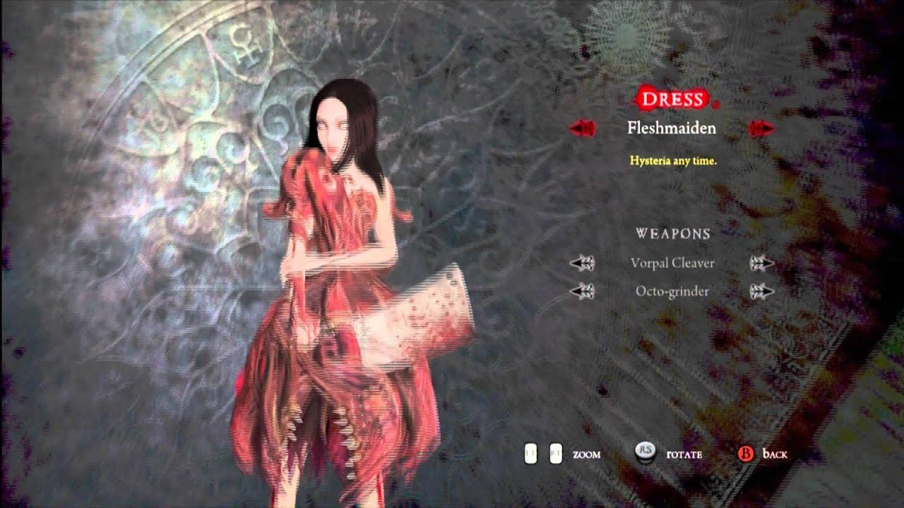 Alice Madness Returns DLC Dress Pack Xbox 360 YouTube