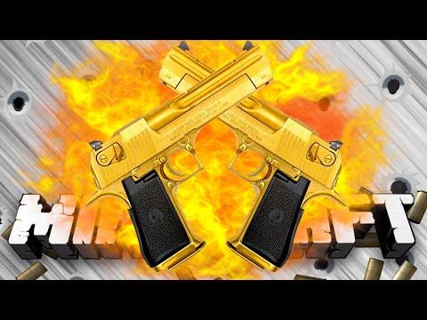 Minecraft HUNGER GAMES WITH GUNS #3 w Preston Woofless