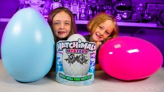 HUGE Mystery Kids Surprise Eggs Opening & Hatchimals Egg Toys | Kinder Playtime It's a Toy Party!