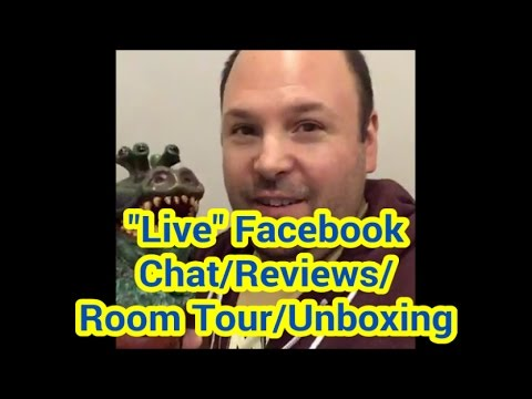 Live Facebook Chat/Reviews/Room Tour/Unboxing!