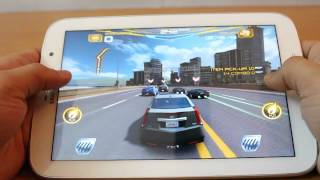 Gaming on the Galaxy Note 8.0 (N5100) - Asphalt 7, Modern Combat 3, Temple Run 2, Subway Surfers