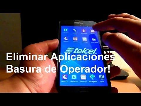Eliminar aplicaciones de Operador! // Tu Android Personal