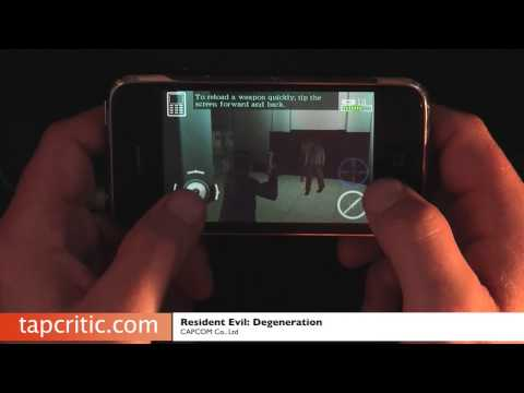 Resident Evil Degeneration iPhone / iPod Touch Review