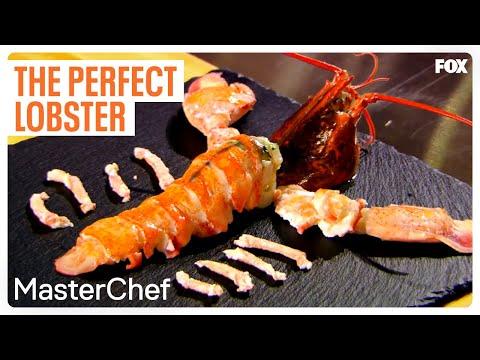 "MASTERCHEF | Gordon's Lobster Demo from ""Gordon Ramsay Masterclass"" | FOX BROADCASTING"