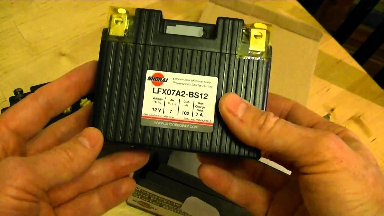 Lithium Ion Motorcycle Battery Review