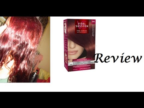 Merlot Red Hair Hair Medium Vibrant Red