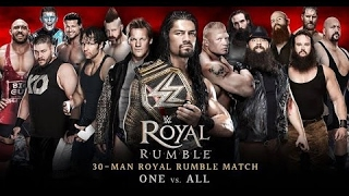 WWE ROYAL RUMBLE 2016 (RESUMEN Y RESULTADOS) Highlights HD