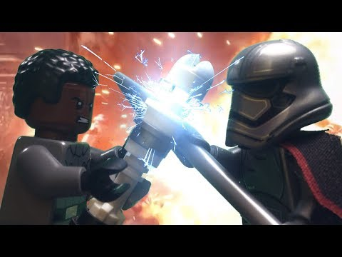 LEGO Star Wars The Last Jedi: Finn vs Captain Phasma