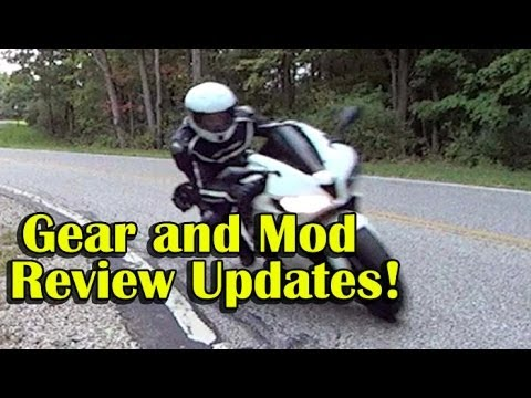 My Motorcycle Gear and Mod Review Updates