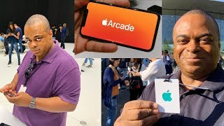 Apple invited ME to their iPhone 11 Event! [Apple Arcade Preview] | Lamarr Wilson