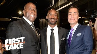 Kobe is winning the Lakers' 'Game of Thrones' over Magic, LeBron - Max Kellerman | First Take