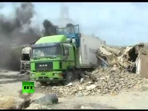 EVENT happening preWW3: BOMB attack on NATO supply truck in Afghanistan