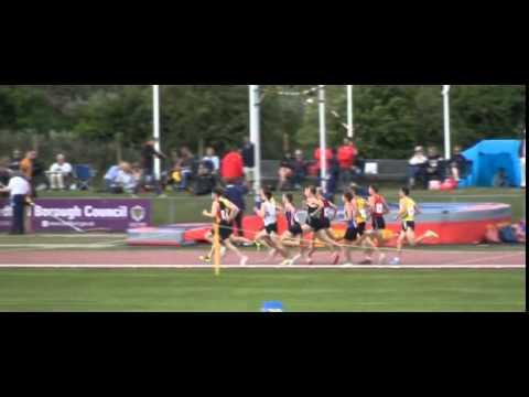 2015 England Athletics Under 23 Men's 1500m Final Neil Gourley, Giffnock North, Virginia Tech