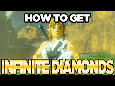 How to Farm Infinite Diamonds Glitch in Breath of the Wild *Patched* | Austin John Plays