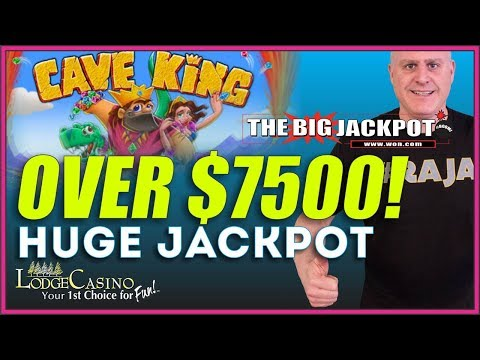👑 HUGE JACKPOT ON CAVE KING 👑 + CONTEST ANNOUNCEMENT ♠️