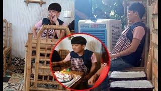 Hậu scandal Trường Giang gượng cười khi được tổ chức sinh nhật lúc sau lủi thủi ra ngồi 1 mình