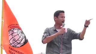ORASI MAHASISWA JOGJA PADA AKSI 2014 LUAR BIASA CERDAS