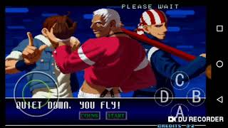 The king of fighter video random