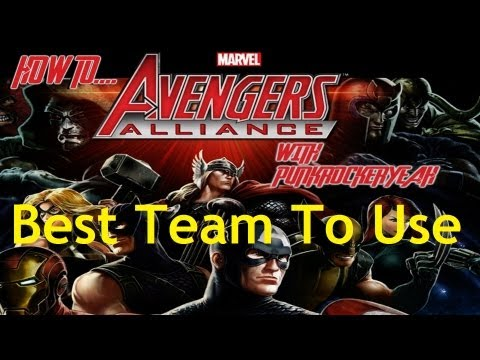 Marvel Avengers Alliance – How To – Best Team To Use