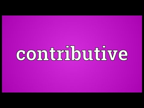 Header of contributive