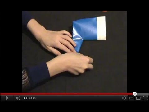 Как сделать сапог оригами