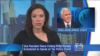 Vice President Mike Pence Visiting Philly Monday