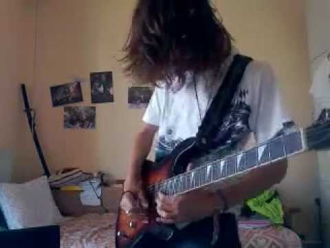 Avenged Sevenfold-nightmare Guitar Cover (syn).3gp video