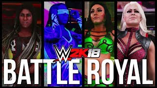 download lagu Wwe 2k18  Battle Royal - Ember Moon Vs gratis
