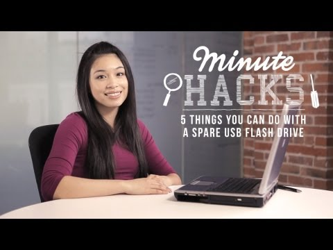Minute Hacks: 5 Things You Can Do With A USB Thumb Drive