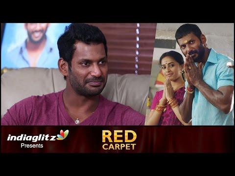 Vishal clarifies about dealing of caste in 'Marudhu' | Red Carpet Interview | Radha ravi