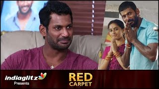 Vishal clarifies about dealing of caste in 'Marudhu' | Red Carpet Interview