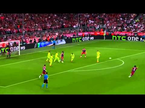 Xabi Alonso vs Barcelona - 13 May 2015